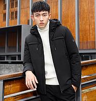 Мужская куртка с капюшоном. Модель 6154