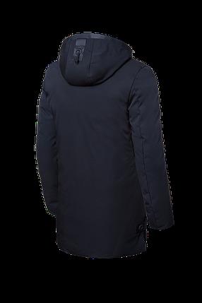 Мужская черная зимняя куртка большие размеры (р. 48-62) арт. 9006Н, фото 2
