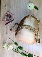 Шикарный женский рюкзачок из кожзама