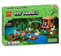 Конструктор Bela 10622 Хижина ведьмы Minecraft (аналог LEGO 21133), 508 дет.