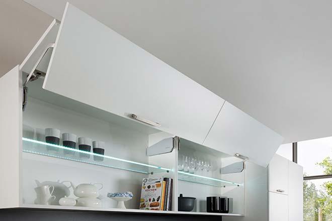 Hafele лифт FREE FOLD 650-730мм 5.8-11.6 кг - без заглушек