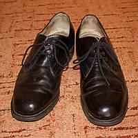 Туфли классические мужские, кожаные, по стельке 27 см