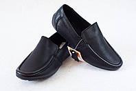 Кожаные туфли для мальчика , школьные туфли. Мокасины  31-36, фото 1
