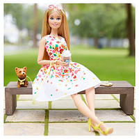 Коллекционная шарнирная кукла барби The Barbie Look Barbie Doll - Park Pretty