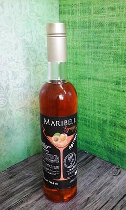 Сироп барный тм «Maribell» Абрикос, фото 2