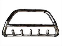 Защита переднего бампера (кенгурятник)  Opel Vivaro (01-13)