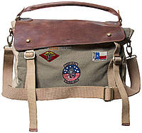 Сумка Top Gun Messenger Bag with Patches, фото 1