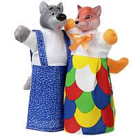 Кукла-перчатка «Лисичка и Волк», ЧудиСам