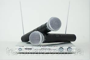 Радиомикрофоны SHURE SH-500/SM58