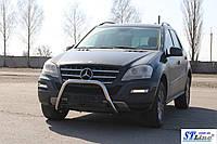Защита переднего бампера (кенгурятник)  Peugeot Boxer 1994-2006
