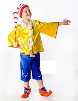 Буратино карнавальный костюм для мальчика