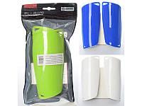Щитки футбольные, пластик ЕVA, 20-9см, 4 цвета, MS0776