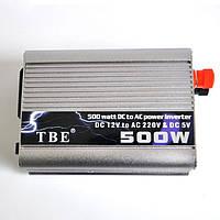 Преобразователь 12V-220V 500W