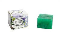 Живое растительное мыло с экстрактом расторопши
