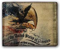 Кожаный кошелек Top Gun American Bald Eagle