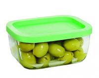 Набор стеклянных емкостей для хранения пищевых продуктов 2 шт по 405 мл Gurallar Art Craft 31-146-203