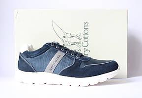 Шикарные замшевые кроссовки-сникеры Henry Cottons, Оригинал