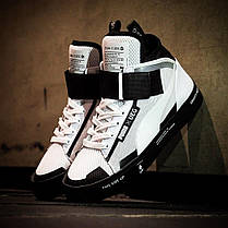 Женские кроссовки Puma Court Play SlipOn x UEG White/Black, Пума Корт Плей Слипон, фото 2
