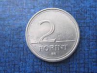 Монета 2 форинта Венгрия 1993 флора цветок