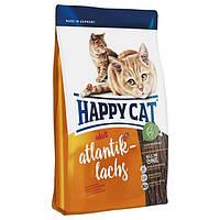 Happy Cat Atlantik Lachs Корм для взрослых кошек с лососем 10кг