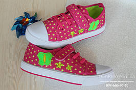 Детские кеды на девочку спортивная текстильная обувь тм Том.м р.25,26,27,28,29