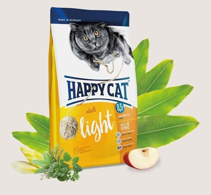 Happy Cat Adult Light 4кг -корм для кошек с избыточным весом и кастрированных котов