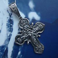 Серебряный крестик с распятием, 6,7 грамма