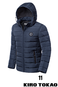 Мужской зимний пуховик высокого качества (р. 48-56) арт. 8815L