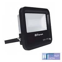 Светодиодный прожектор Feron LL-650 50W 6400K