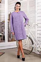 Пальто женское букле модное размеры с 44 по 62