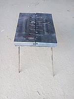 Мангал чемодан обычный (8 шампуров)