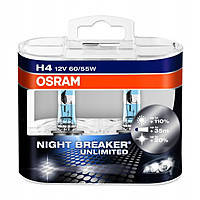 "Галогенка 12В ""Osram"" H4 60/55 P43 Night Breaker Laser +130% (2 шт.) (64193 NBL-DUO-BOX)"
