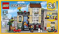 Конструктор LEGO 31065 Creator Домик в пригороде Park Street Townhouse Building Toy