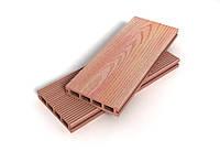 Террасная доска Exclusive (Малайзия). Террасная доска из древесно полимерного композита, ДПК.