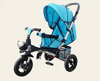 Велосипед-коляска TR20101, Аналог crosser T350 голубой