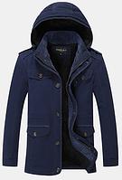 Мужская зимняя куртка с капюшоном. Модель 6156, фото 4