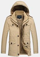 Мужская зимняя куртка с капюшоном. Модель 6156, фото 2