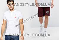 Комплект Футболка поло и шорты с логотипом Adidas