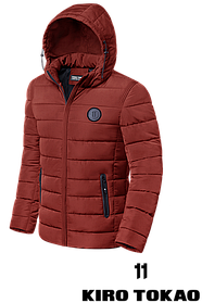 Мужская яркая зимняя куртка (р. 48-56) арт. 8815К