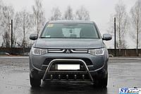 Защита переднего бампера (кенгурятник)  Mitsubishi L-200 2006-2015
