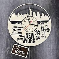 Дизайнерские часы на стену «Нью-Йорк»