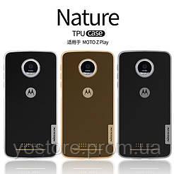 TPU чехол Nillkin Nature Series для Motorola Moto Z Play