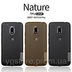 TPU чехол Nillkin Nature Series для Motorola Moto G4 Play