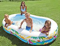 Семейный надувной бассейн Intex 262x160х46 cм  (56490)