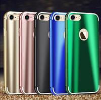 """Металлический бампер с пластиковой вставкой Luxurious Neon для Apple iPhone 7 plus / 8 plus (5.5"""")"""