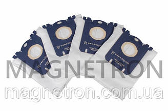 Набор мешков (4 шт) FC8021/03 S-BAG Classic Long Performance к пылесосу Philips 883802103010
