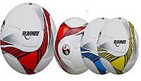 Мяч футбольный, 3 вида, PU, №5, 32 панели, 400г, 1141ABC