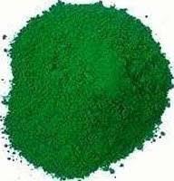 Пигмент зеленый оксид хрома
