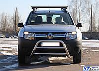 Защита переднего бампера (кенгурятник)  Isuzu D-Max 2008-2011