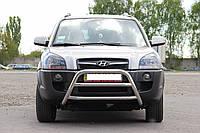 Защита переднего бампера (кенгурятник)  Hyundai Tucson 2004+